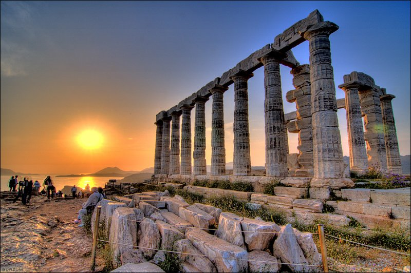 CAPE SOUNION & THE TEMPLE OF POSEIDON