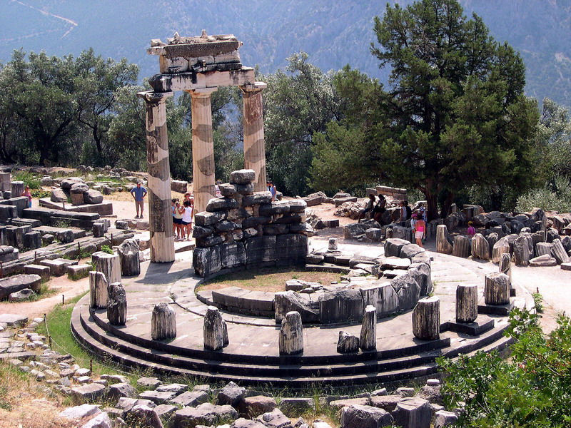 THE WONDERS OF DELPHI